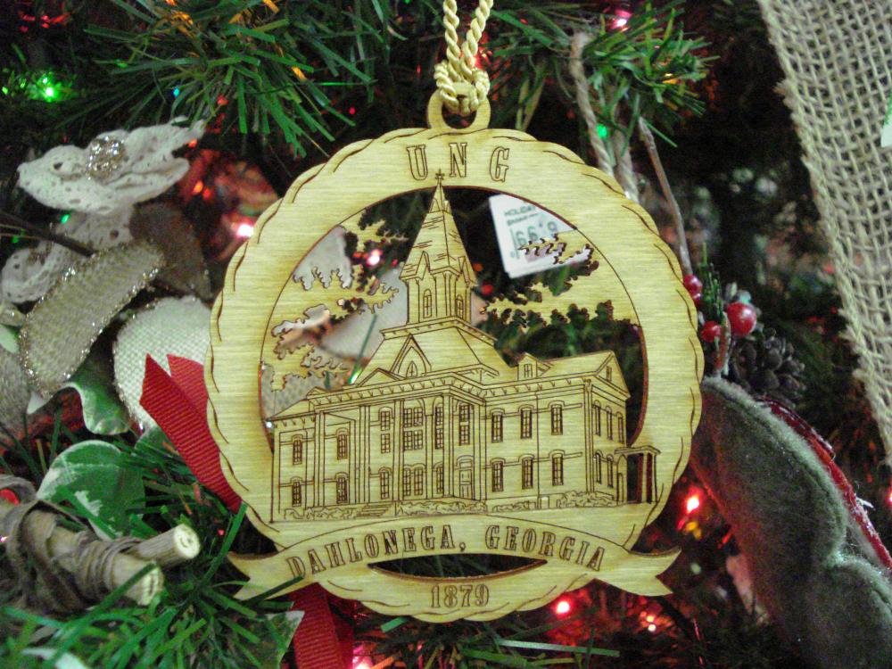 university of north georgia souvenir ornament