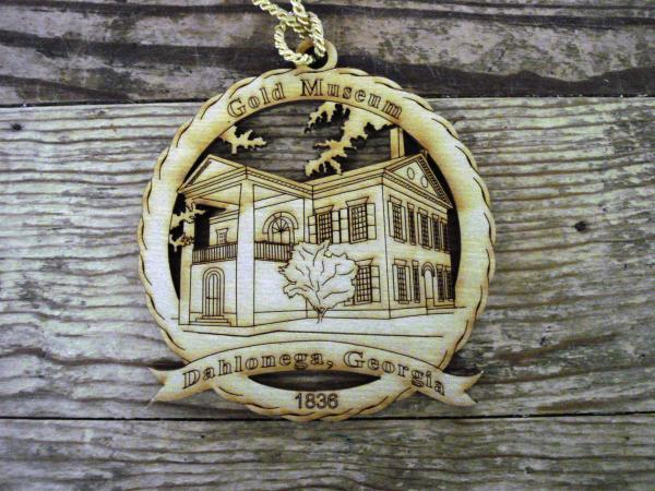 Buy Online Gold Museum Souvenir Ornament Cranberry Corners Gift Shop Dahlonega