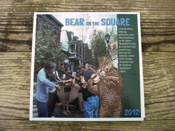 Bear on the Square CD Cranberry Corners Gift Shop Dahlonega Georgia