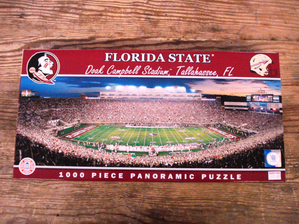 Buy Online Florida State Seminole Puzzle Cranberry Corners Gift Shop Dahlonega
