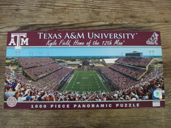 Buy Online Texas A and M Puzzle Cranberry Corners Gift Shop Dahlonega