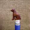 Handcarved Wooden Dog Wine Cork