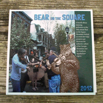 Bear on the Square CD Cranberry Corners Gift Shop Dahlonega Georgia