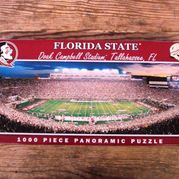 Buy Online Florida State Seminole Puzzle Cranberry Corners Gift Shop Dahlonega