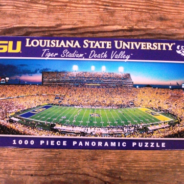 Buy Online LSU Tigers Puzzle Cranberry Corners Gift Shop Dahlonega