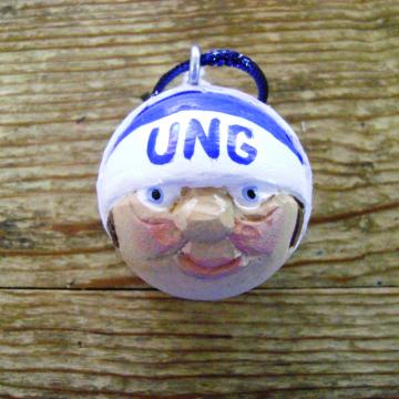 University North Georgia Golf Ball Christmas Ornament
