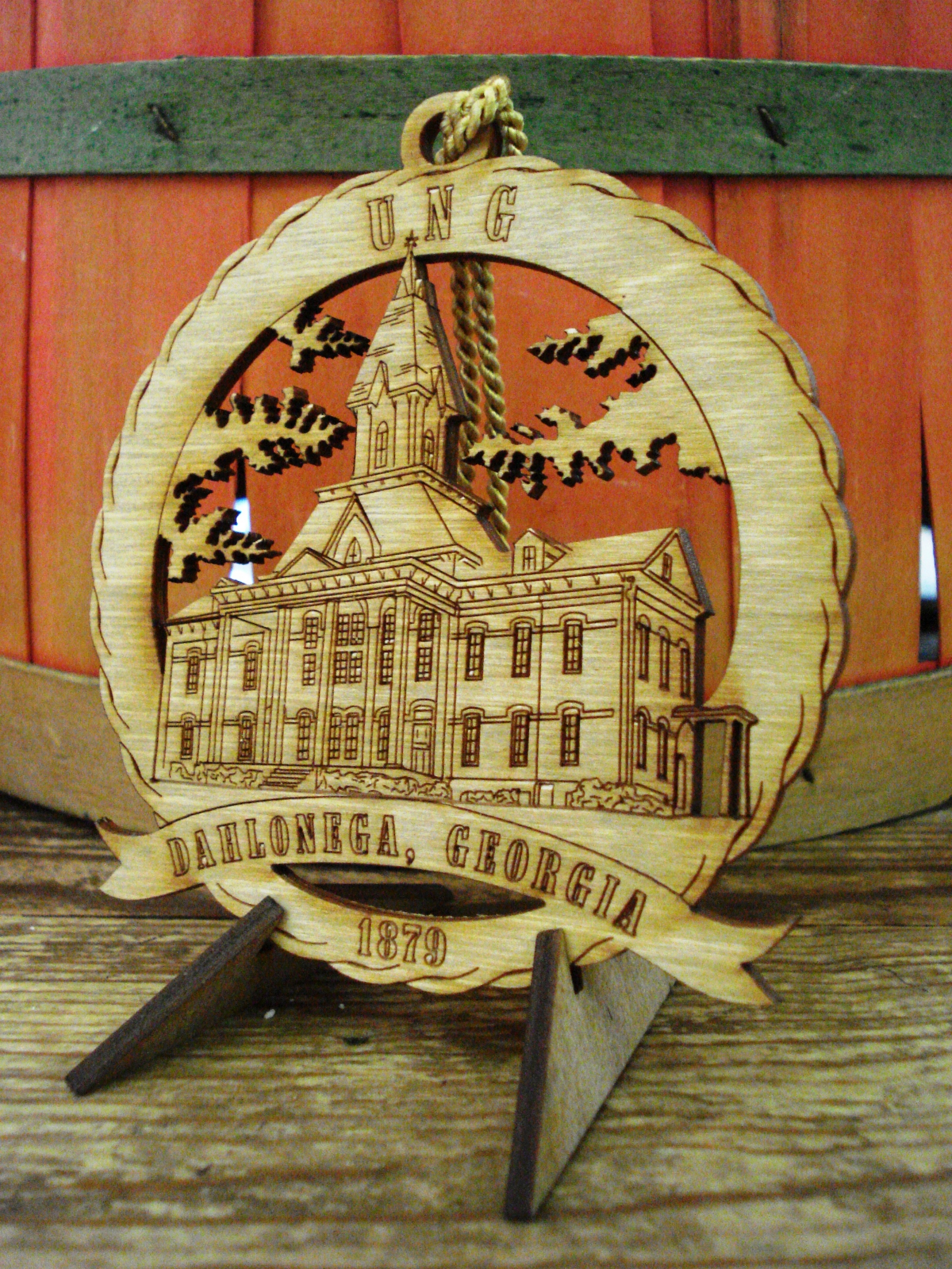 University of North Georgia Souvenir Ornament