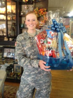 Cranberry Corners Customer Photo | University of North Georgia Welcome Back Gift Basket