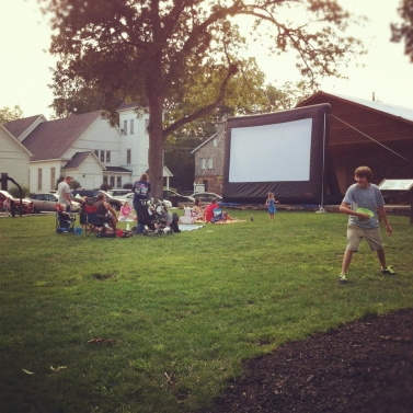 Movies in Hancock Park every weekend...