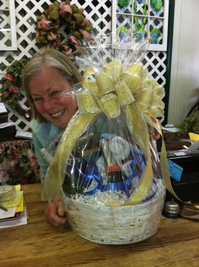 Custom Spring Gift Basket...for Mother's Day?