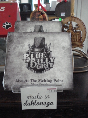 Blue Billy Grit Bluegrass CD