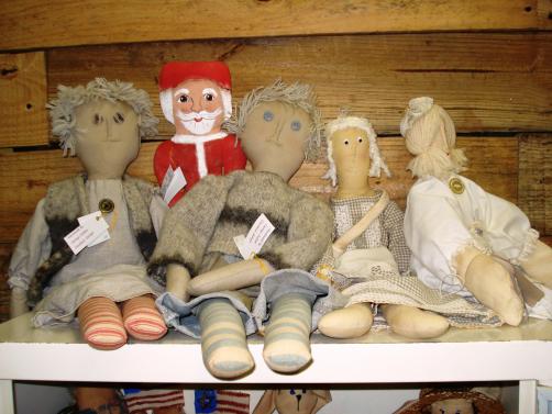 Handmade Dolls by Carolyn Dubose