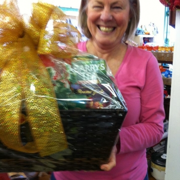Another gorgeous Christmas gift basket