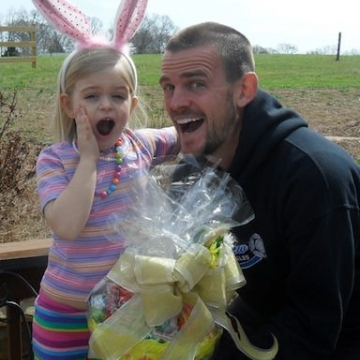 And the Easter Gift basket winner is...
