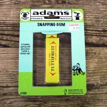 Adams Magic Tricks | Juicy Fruit Snapping Gum