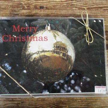 Dahlonega Courthouse Reflection | Christmas Card Set