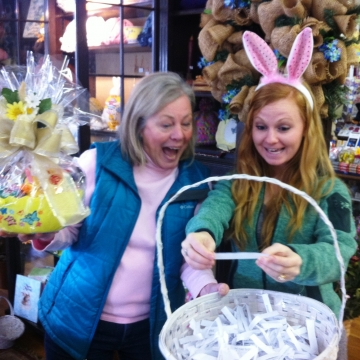 Easter Gift Basket giveaway announced!