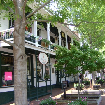 Summer scenes from around Dahlonega's Square