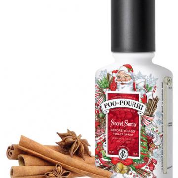 Poo-pourri Holiday Scent | Secret Santa