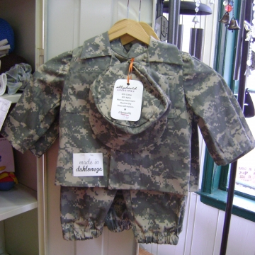 Handmade Army Uniforms by Ally David